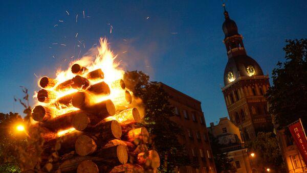 Праздник Лиго в Риге - Sputnik Латвия