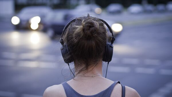 Девушка на улице - Sputnik Латвия