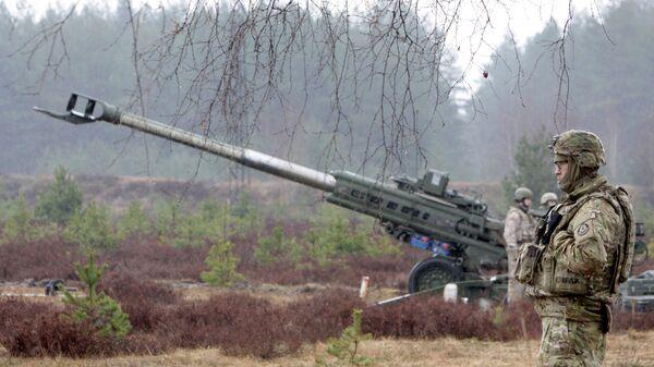 Военнослужащие блока НАТО - Sputnik Латвия