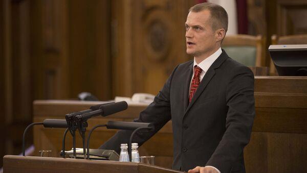 Cпикер парламента Латвии депутат Иварс Зариньш - Sputnik Латвия