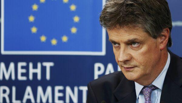 Британский еврокомиссар Джонатан Хилл - Sputnik Латвия
