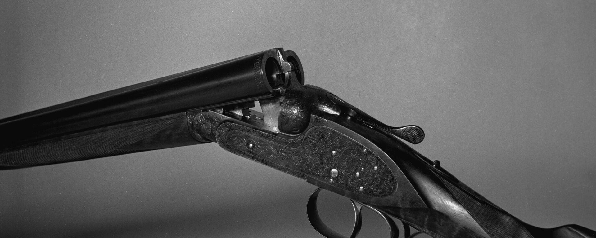 Охотничье двуствольное ружье с вертикально спаренными стволами МЦ-6 - Sputnik Латвия, 1920, 06.12.2020