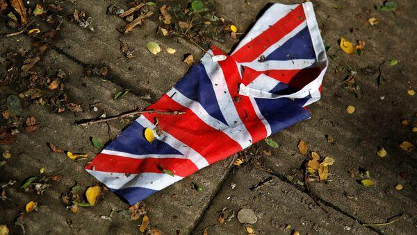 Флаг Великобритании на улице Лондона - Sputnik Latvija