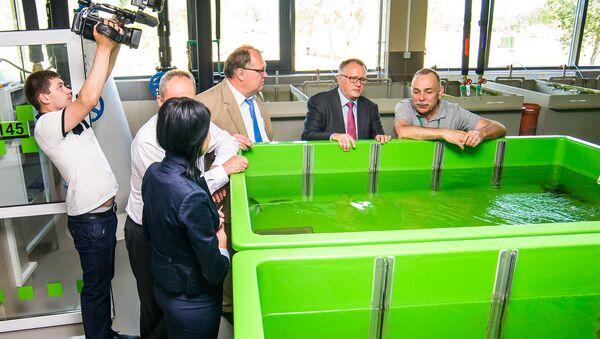 Открытие уникальной лаборатории в Даугавпилсе - Sputnik Латвия