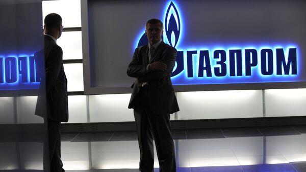 Логотип Газпром - Sputnik Latvija
