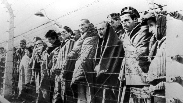 Узники концентрационного лагеря - Sputnik Latvija