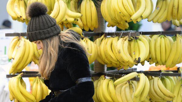 Бананы в магазине - Sputnik Латвия