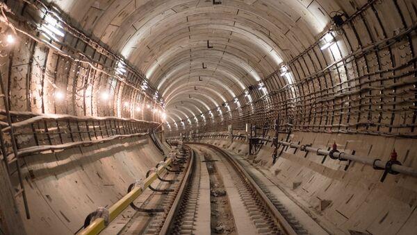 Тоннель Московского метрополитена - Sputnik Латвия