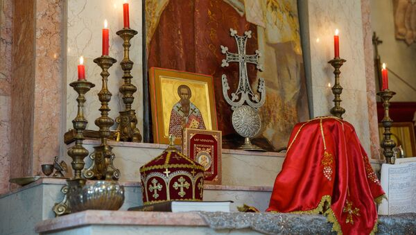 Rīgas sv. Grigorija Apgaismotāja Armēņu baznīca. Foto no arhīva - Sputnik Latvija