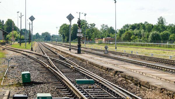 Зилупский железнодорожный пограничный пункт - Sputnik Латвия