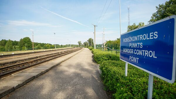 Зилупский железнодорожный пограничный пункт - Sputnik Latvija