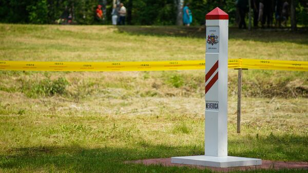 Латвийский пограничный столб - Sputnik Латвия