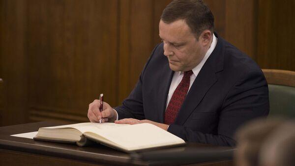 Iekšlietu ministrs Rihards Kozlovskis. Foto no arhīva - Sputnik Latvija