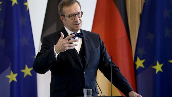 Экс-президент Эстонской Республики Тоомас Хендрик Ильвес - Sputnik Латвия