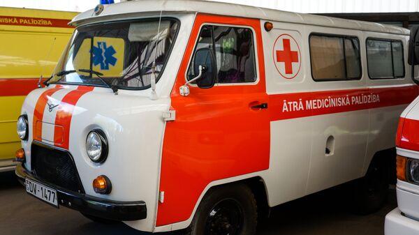 Машина неотложной помощи в Латвии - Sputnik Latvija