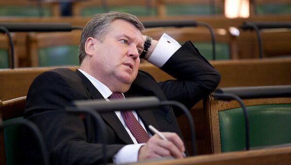 Opozīcijas partijas Saskaņa līderis Jānis Urbanovičs - Sputnik Latvija