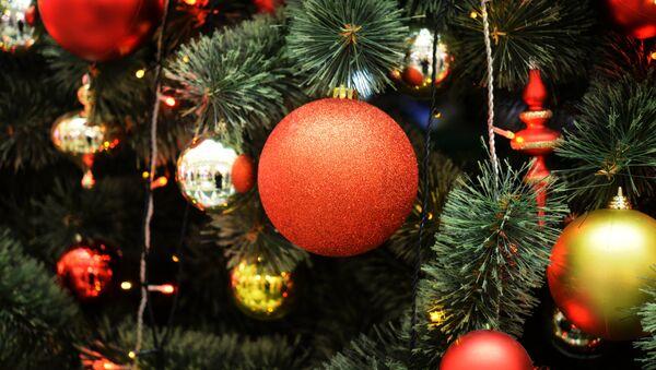 Новогодняя ель - Sputnik Латвия