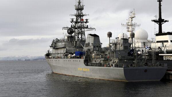 Российский военный корабль - Sputnik Latvija