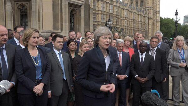 Вместе мы построим лучшую Британию – Мэй о новом политическом курсе страны - Sputnik Латвия