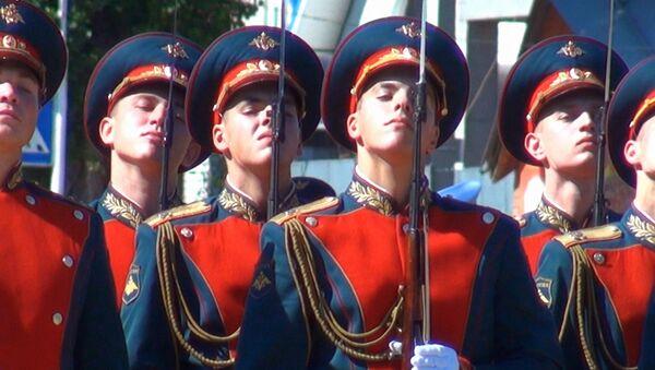 На Кубани простились с полковником Хабибулиным, погибшим в Сирии - Sputnik Латвия