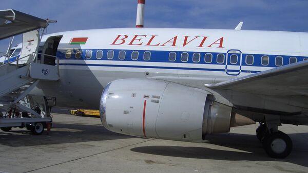 Самолет компании Белавиа - Sputnik Латвия