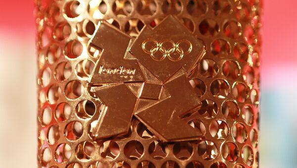 Олимпийский факел Лондон - 2012 - Sputnik Латвия