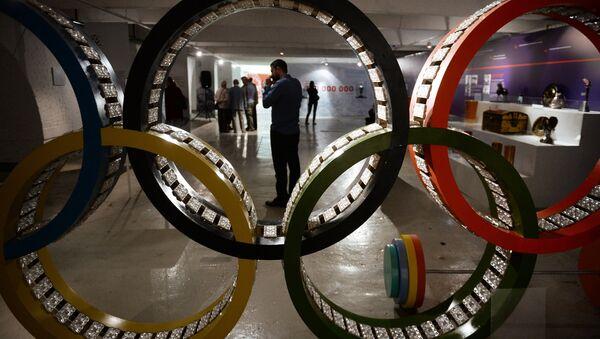 Олимпийские кольца. Архивное фото - Sputnik Latvija