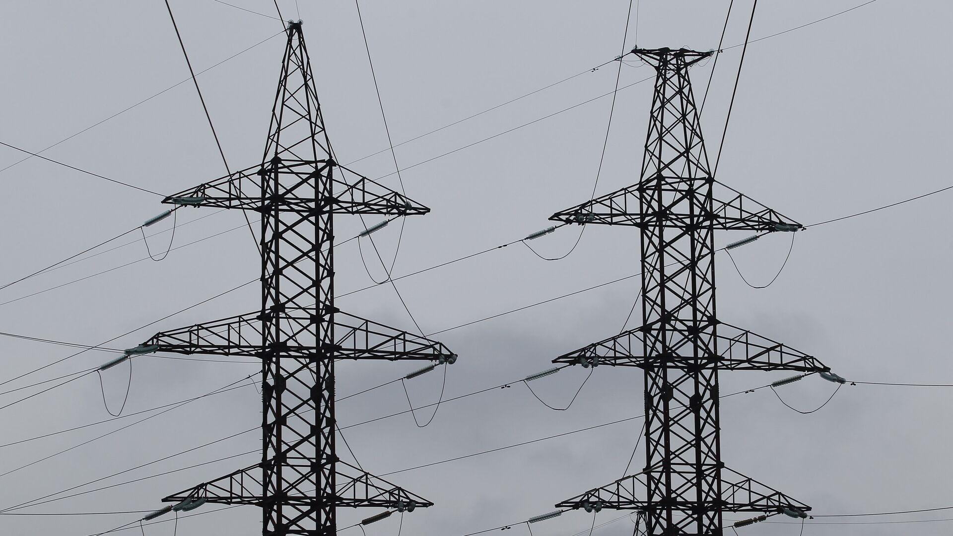 Электрическая подстанция - Sputnik Латвия, 1920, 02.07.2021
