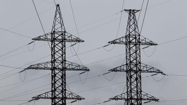 Электрическая подстанция - Sputnik Latvija