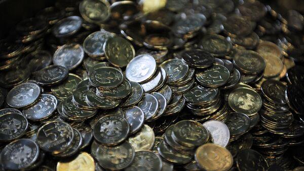 Пятирублевые монеты - Sputnik Latvija