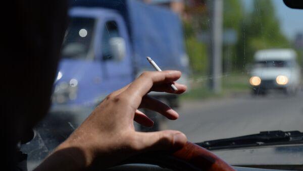 Запрет на курение в общественных местах - Sputnik Латвия