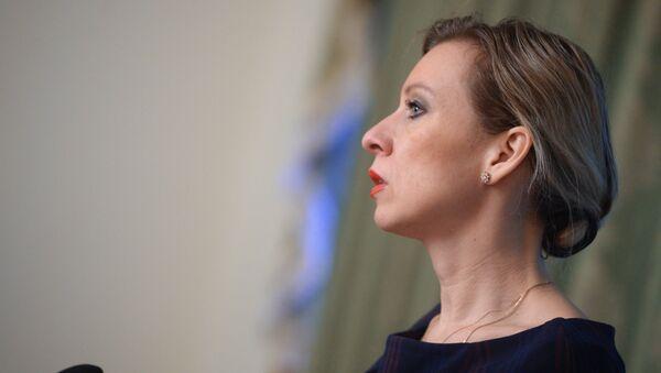 Брифинг официального представителя МИД России М.В.Захаровой - Sputnik Latvija