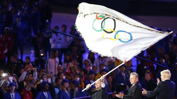Olimpiskais karogs. Foto no arhīva - Sputnik Latvija
