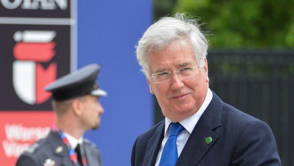 Министр обороны Великобритании Майкл Фэллон - Sputnik Латвия