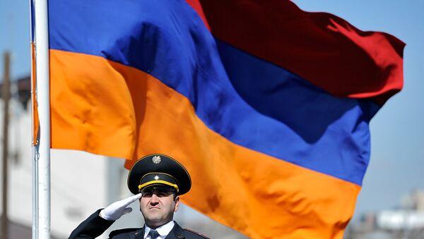 Флаг Армении. Архивное фото - Sputnik Латвия
