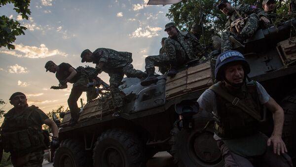 Ситуация в Донбассе. Архивное фото - Sputnik Латвия