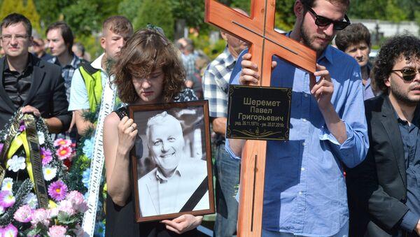Похороны Павла Шеремета - Sputnik Латвия