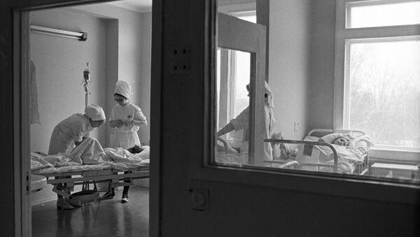 Больничная палата. Архивное фото - Sputnik Latvija