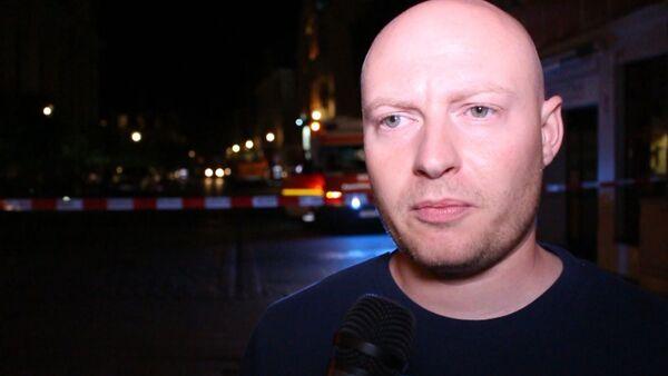 Очевидец взрыва в Ансбахе рассказал о первых минутах после ЧП - Sputnik Латвия