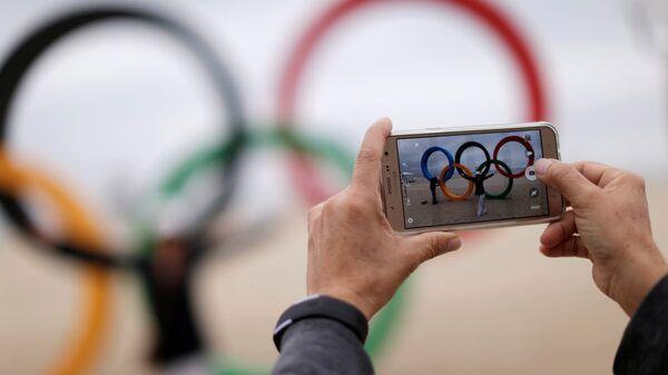 Олимпийские кольца в Рио - Sputnik Latvija