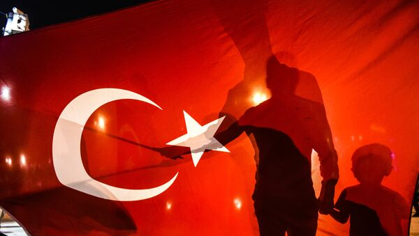 Turcijas karogs - Sputnik Latvija