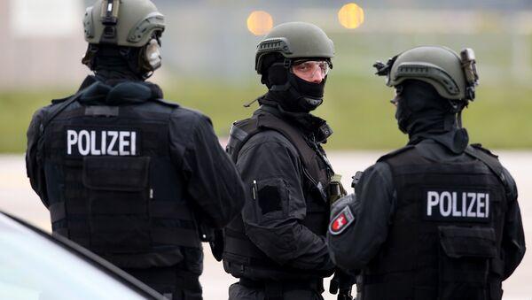 Полиция Германии. Архивное фото. - Sputnik Латвия