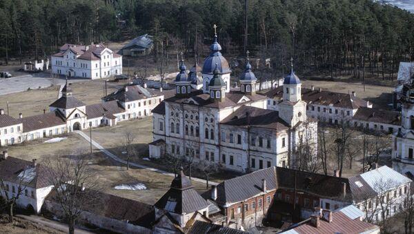 Рождество-Богородичный Коневский монастырь - Sputnik Latvija