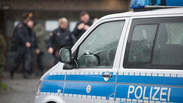 Полицейский автомобиль в Германии - Sputnik Латвия