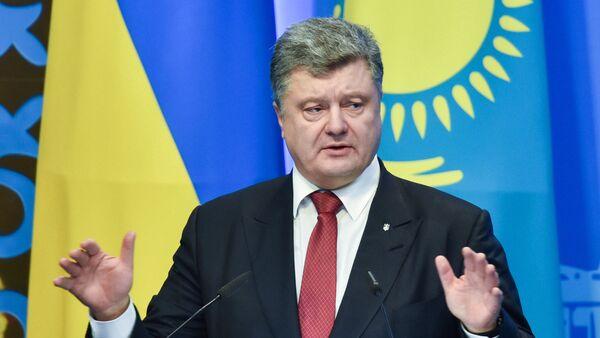 Ukrainas prezidents Porošenko. Foto no arhīva - Sputnik Latvija