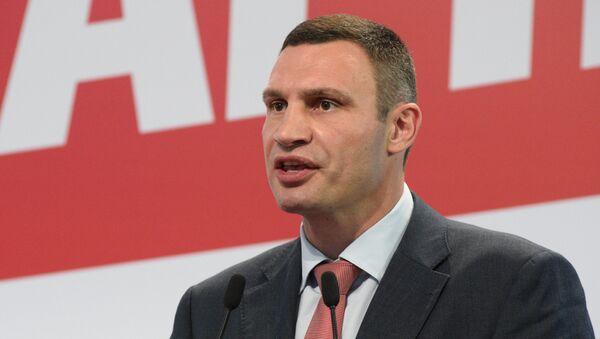 мэр Киева Виталий Кличко - Sputnik Latvija