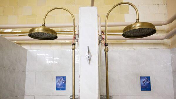 Dušas telpa. Foto no arhīva - Sputnik Latvija