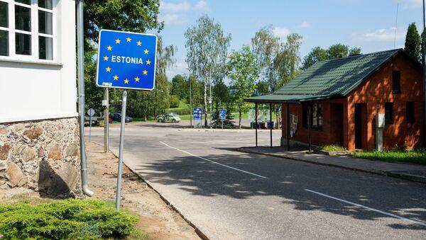 Латвийско - эстонская граница в Валке - Sputnik Latvija