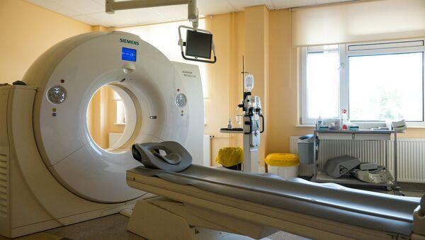Больница в Валге. Компьютерный томограф - Sputnik Латвия
