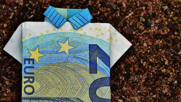 Купюра евро - Sputnik Latvija